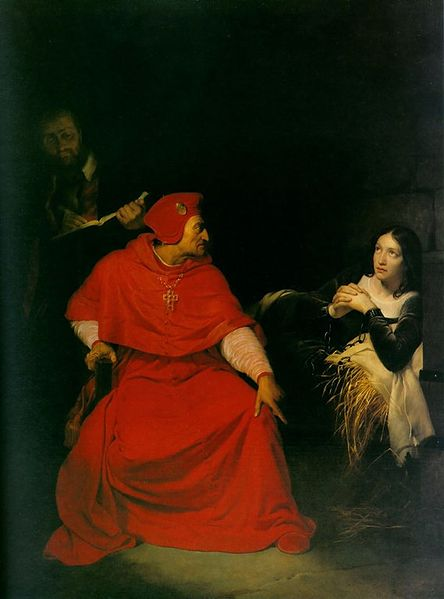 Visite du cardinal de Winchester