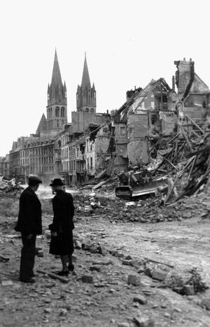Ruines de Caen