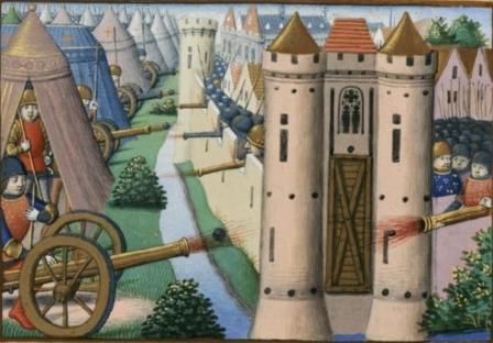 Siège de Rouen par les Anglais en 1418-1419 dans Martial d'Auvergne