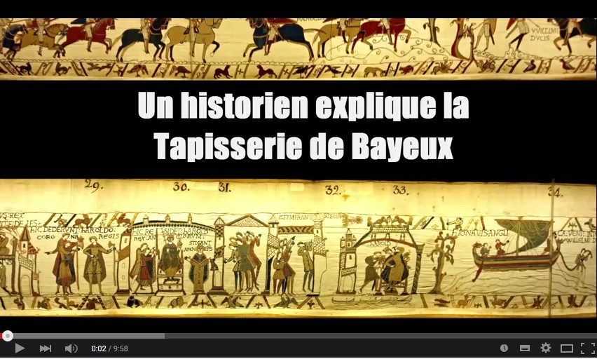 la tapisserie de bayeux expliqu e et d tourn e histoire de la normandie. Black Bedroom Furniture Sets. Home Design Ideas