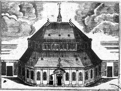 Le temple protestant de Caen