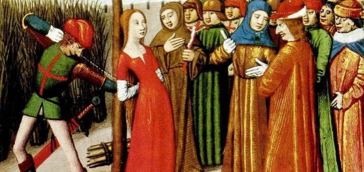 Jeanne d'Arc sur le bûcher