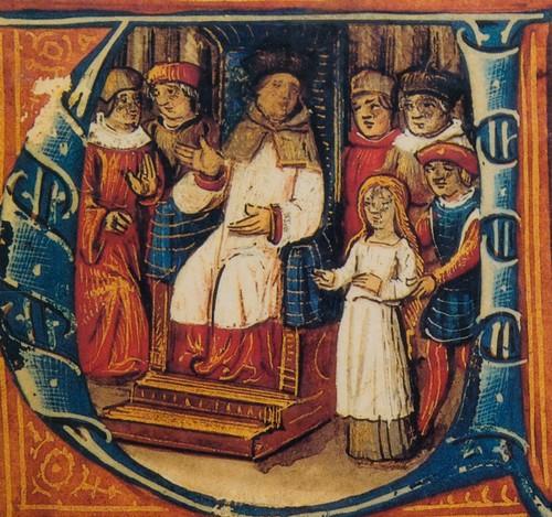 Jeanne d'Arc devant ses juges.