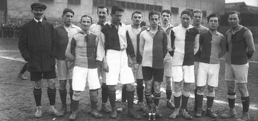 Le Havre Athletic Club en 1913 au tournoi de Saint-Ouen