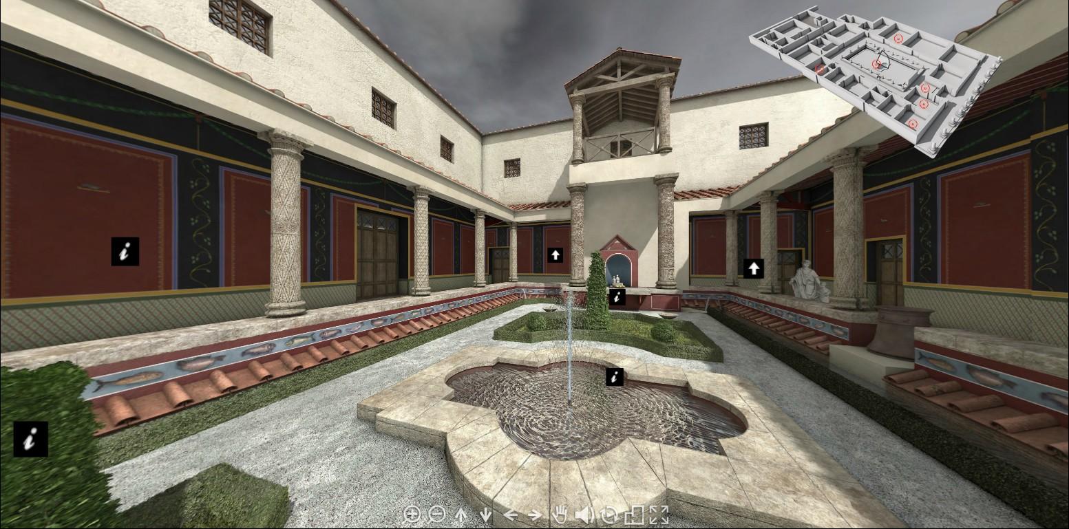 La Villa Gallo Romaine Habitants