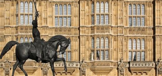 Statue équestre de Richard Cœur de Lion