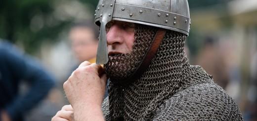 Guerrier normand aux Médiévales de Bayeux