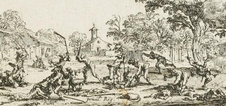 Jacques Callot, La revanche des paysans, 1633.