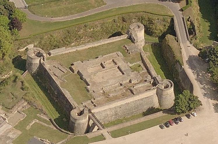 Le donjon du château de Caen