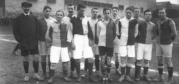 Le Havre Athletic Club en 1913 au tournoi de Saint-Ouen