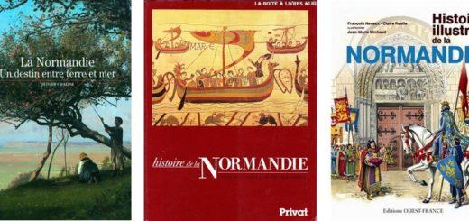 sélection de livres sur l'histoire de la Normandie