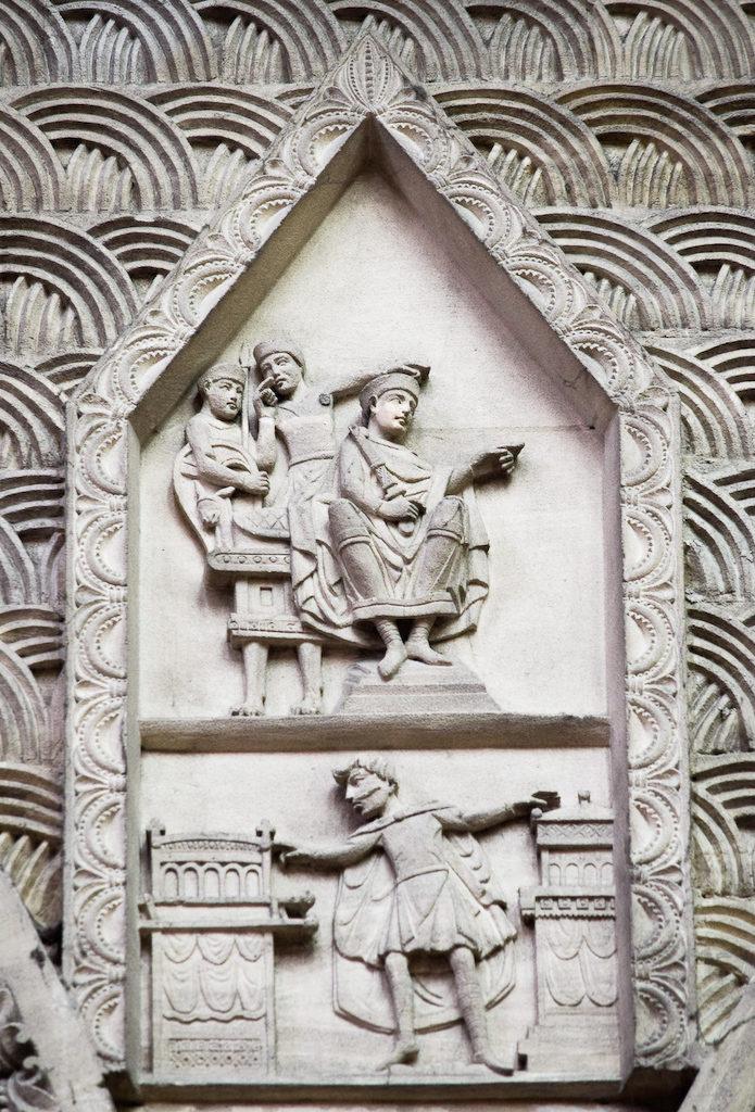 Serment d'Harold devant Guillaume.