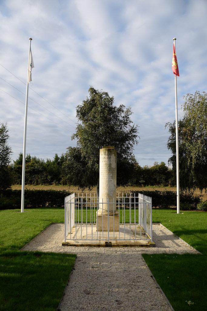 Stèle de commémoration de la bataille de Val-ès-Dunes