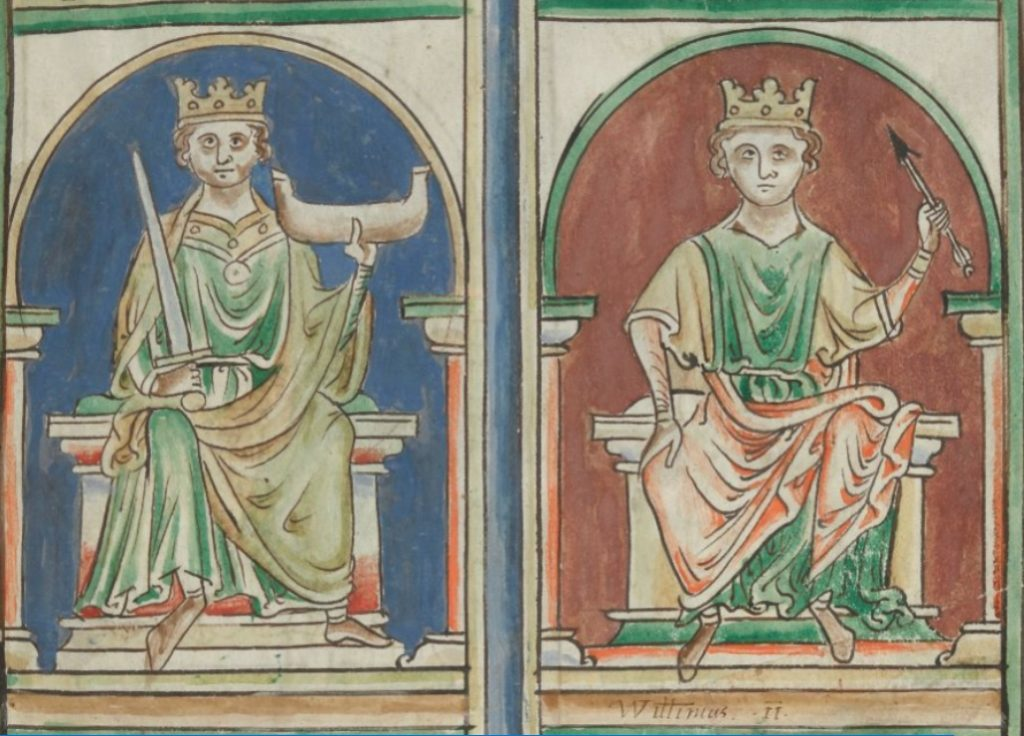 Rois d'Angleterre